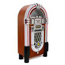 Jukebox Retro Anni 50 con CD, USB, Memory Cards SD/MMC, Radio, Bluetooth e Aux