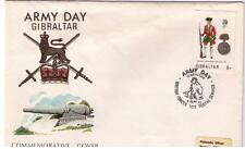 STAMPS. FDC - Military –Army Day – GIBRALTER - 8th Sept 1973