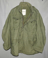 U.S. Army Field Jacket M-65 Coat Cold Weather Field OG-107 MEDIUM LONG 1976