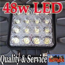LED Driving Work Reversing Lights 48W Kit 12V 24V Flood Spot Bright White 6000K
