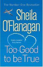 SHEILA O'FLANAGAN__TOO GOOD TO BE TRUE___SHOP SOILED BLUE COVER