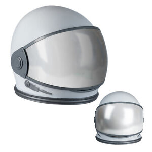 Astronaut Helmet with Movable Space Visor Cosmonaut Mask Costume Dress Up Props