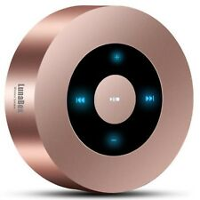 LunaBox SoundBot Bluetooth Speaker with 8 10 Hour Playtime Rose Gold Brand New