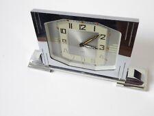 Pendulette de table réveil Jaz Art Deco En Metal, Vintage parfait état
