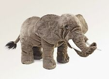 Elephant Puppet, Moveable Mouth & Trunk, Folkmanis MPN 2534 Boys & Girls, 3 & Up