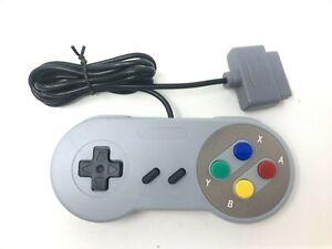 New Wired Controller for Original Super Nintendo SNES SFC Famicom-Style Buttons