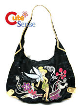 Disney Tinkerbell Shoulder Bag Denim Hand Bag Round