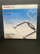 Digital Body Scale Accurate Safety Glass Low Profile Easy to read and Display