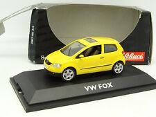 Schuco 1/43 - VW Fox Jaune