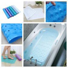 Extra Long Bath Tub Mat Antibacterial Anti Slip Bathroom Shower Pad Accessories