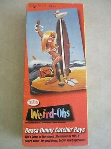 VTG 1994 TESTORS WIERD-OHS BEACH BUNNY CATCHIN' RAYS MODEL KIT IN BOX
