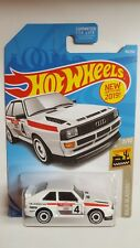 2019 Hot Wheels / '84 AUDI SPORT QUATTRO / Baja Blazers / white
