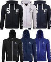 Mens hooded Zip top by crosshatch Hoodies, Hoody, Jumper, Sweatshirt M-2XL
