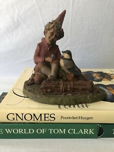 Early And Rare Retired Tom Clark Gnome Rorie Signed By The Artist
