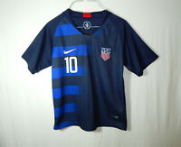 Christian Pulisic 2018 USA National Team Soccer Jersey Shirt Nike Youth LARGE L