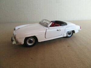 386G Rio 4365 Mercedes 190 Sl W121 Roadster White 1:43