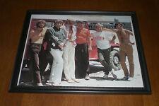 1960's Beach Boys Framed Color Print