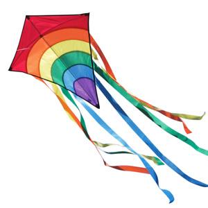 CIM Kinder-Drachen Rainbow Eddy Red Flugdrachen drachenfliegen inkl Schnur