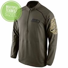 5d2d117f7 Salute to Service Jacket 2015 NFL Hybrid Nike Mens 1 4 Zip Pullover STS New