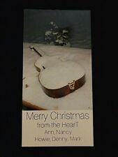 Heart ( The Band) 1985 Christmas Card  Ann & Nancy Wilson