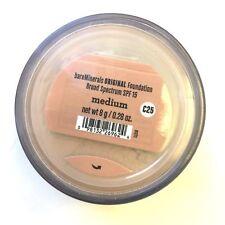 Bare Minerals Escentuals SPF 15 Foundation MEDIUM - C25 8g XL