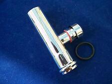 Verlängerungsrohr mit Rohrbelüfter Messing verchromt 32 x 125 mm