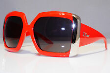 DIOR Womens Boxed Vintage Oversized Sunglasses Red NOS NEW DIORSSIMA 1 24677