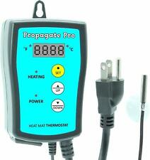 Plug in 1000 Watt Heating Thermostat Outlet 34-108°F by Propagate Pro 110V, 1..