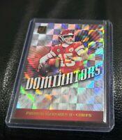2019 Panini Donruss Dominator 🔥 Patrick Mahomes II Kansas City Chiefs Card MVP
