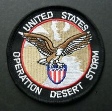 OPERATION DESERT STORM GULF WAR EMBROIDERED PATCH 3 INCHES