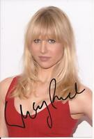 BAD TEACHER & HOT FUZZ * LUCY PUNCH ' AMY ' SIGNED 6x4 SEXY PORTRAIT PHOTO+COA