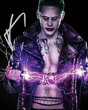 JARED LETO (Suicide Squad - JOKER) #3 10x8 LAB QUALITY PHOTO - FREE DELIVERY
