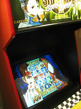 600+ in 1 multigame game arcade machine Street Fighter Alpha 3rd Strike,Simpsons