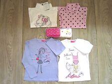 Lot Vêtements pour Fille en Coton 5/6 ans NEUFS