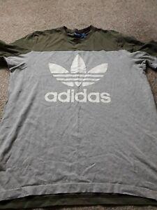 Mens addidas t shirt large