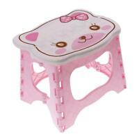 Enfants enfants chaise escabeau chaise portable banc chaise pliante rose