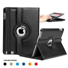 360 Leather Smart Case Cover for Apple iPad 5 4 3 2, iPad mini iPad Air iPad Pro