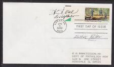 D.K. Stone, Stamp Designer, Signed Conservation FDC