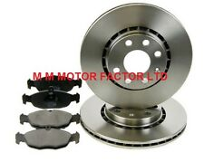 VAUXHALL TIGRA 1.4 1.6 (94-01) FRONT 2 BRAKE DISCS AND PADS SET NEW