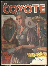 El Coyote # 24 - Year Ii - Short Stories 1949 by J. Mallorqui