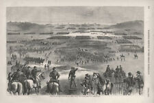 Position of the Confederate Army when The Surrender Was Announced  -   Civil War