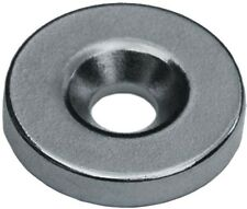 4 Neodymium Magnets 5/8 x 1/8 inch Countersink Ring