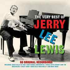 "JERRY LEE LEWIS *NEW* 3-CD Box Set ""The Very Best Of"" 60 Original Greatest Hits"
