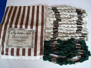 18 Needlepoint/Embroidery THREAD DMC Cotton Perle  644 822 890