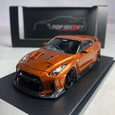 1/43 Tiger Gate Japan Top Secret Nissan Skyline GTR R35 2018 Orange Met.