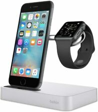 Belkin Valet Charging Dock Wireless Apple iPhone 11 & Watch 4, 3, 2, 1 Silver