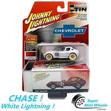 CHASE ! White Lightning ! Johnny Lightning 2020 Collector Tin 1963 Cheetah 1:64