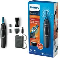 Philips Series 5000 Battery-Operated Nose, Ear & Eyebrow Trimmer - NT5171/15