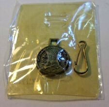 Vintage zipper pull 'zip pull' North American Hunting Club Eagle Nos