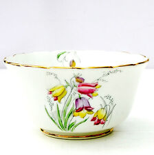Vintage 1930s Chapmans Longton Standard China Deco Floral Sugar Bowl